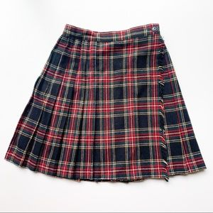 Vintage Plaid School Girl Skirt Norton McNaughton